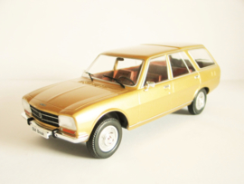 Peugeot 504 Break goudkleurig
