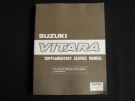 Werkplaatshandboek Suzuki Vitara (SE416 en SV620) supplement
