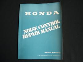 Werkplaatshandboek Honda Civic (1988) Noise Control
