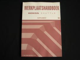 Werkplaatshandboek Honda Shuttle (1996) Supplement