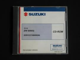 Werkplaats CD Suzuki SX4 (RW415 en RW416) (April 2006)