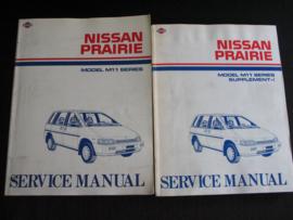 Werkplaatshandboek Nissan Prairie (M11)