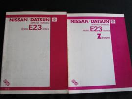 Werkplaatshandboek Nissan/ Datsun Urvan (E23)