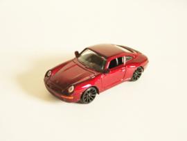 Porsche 911 rood metallic