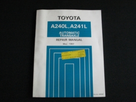 Werkplaatshandboek Toyota automatische transaxle A240L en A241L