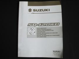 Werkplaatshandboek Suzuki Grand Vitara (SQ420WD) elektrische schema's (2e editie)