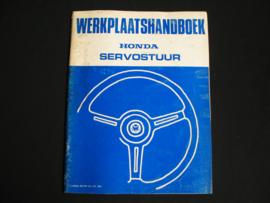Werkplaatshandboek Honda Accord (1981) Servostuur