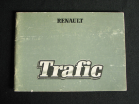 Owners manual Renault Trafic (1980)