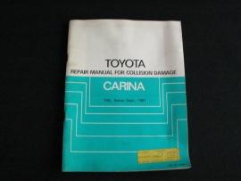 Werkplaatshandboek Toyota Carina (1981)