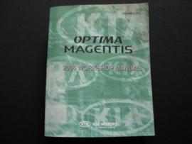 Werkplaatshandboek Kia Magentis/ Kia Optima (2006) deel 2