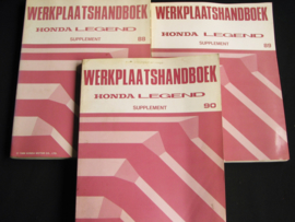 Werkplaatshandboek Honda Legend Supplement (1988, 1989 en 1990)
