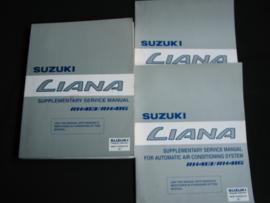 Werkplaatshandboek Suzuki Liana (RH413 en RH416) supplement boeken