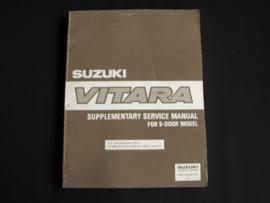 Werkplaatshandboek Suzuki Vitara supplement 5-deurs model