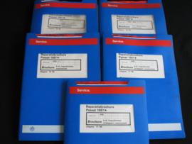Werkplaatshandboek Volkswagen Passat (1997) deel 1