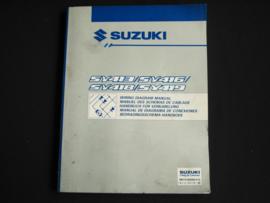 Werkplaatshandboek Suzuki Baleno (SY413, SY416, SY418 en SY419) elektrische schema's (2e editie)