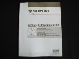 Werkplaatshandboek Suzuki Grand Vitara (SQ420WD) elektrische schema's (1e editie)