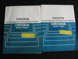 Werkplaatshandboek Toyota Cressida SW