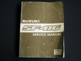 Werkplaatshandboek Suzuki Swift (SF416)