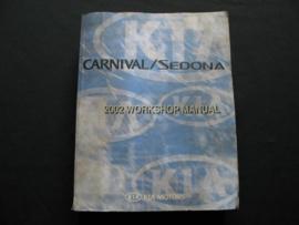 Werkplaatshandboek Kia Carnival/ Kia Sedona (2002)