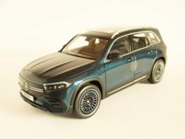 Mercedes Benz EQB (Denim Blue)