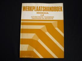 Werkplaatshandboek Honda L4 Automatische Transmissie