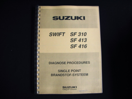 Diagnoseboek Suzuki Swift (Met single point injectie)