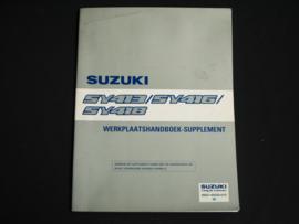 Werkplaatshandboek Suzuki Baleno (SY413, SY416 en SY418) supplement