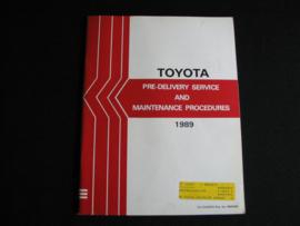 Onderhoudsboek Toyota (1989)