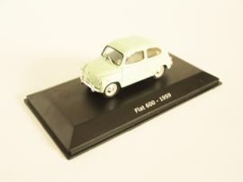 Fiat 600 (1959) lichtgroen