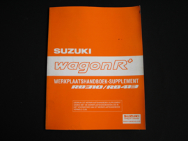 Werkplaatshandboek Suzuki WagonR+ (RB310 en RB413) supplement (2002)
