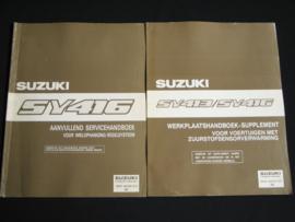 Werkplaatshandboek Suzuki Baleno (SY413 en SY416) supplement