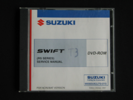 Werkplaats CD Suzuki Swift (RS413, RS413D RS415 en RS416) (oktober 2007)