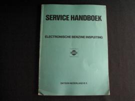 Werkplaatshandboek Nissan/ Datsun elektronische benzine inspuiting