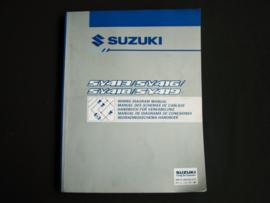 Werkplaatshandboek Suzuki Baleno (SY413, SY416, SY418 en SY419) elektrische schema's