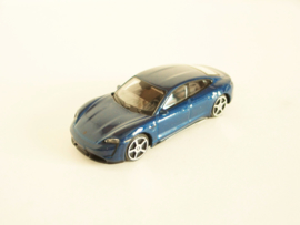 Porsche Taycan blauw metallic