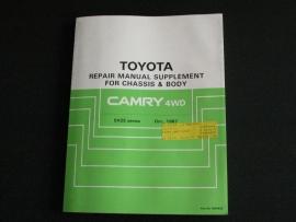 Werkplaatshandboek Toyota Camry 4WD
