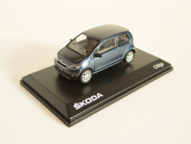 Skoda Citigo blauw metallic