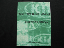 Werkplaatshandboek Kia Sephia II/ Kia Shuma II (2003) (Elektrische Schema`s)