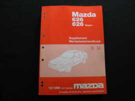 Supplement werkplaatshandboek Mazda 626/ 626 Wagon