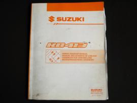 Werkplaatshandboek Suzuki WagonR+ (RB413) elektrische schema's