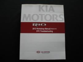Werkplaatshandboek Kia Rio (2012) DTC Troubleshooting (Brandstofsysteem, Vering, Stuurinrichting, Remmen, Verwarming en Airco)