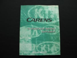 Werkplaatshandboek Kia Carens (2001) (Supplement)