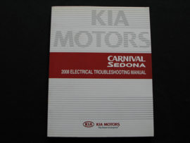 Werkplaatshandboek Kia Carnival/ Kia Sedona (2008) (Elektrische troubleshooting)