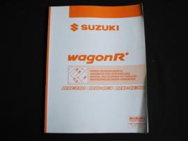 Werkplaatshandboek Suzuki WagonR+ (RB310, RB413 en RB413D) elektrische schema's