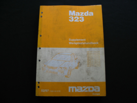 Supplement werkplaatshandboek Mazda 323