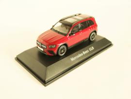 Mercedes Benz GLB (X247) (Designo Patagonia Red Bright)