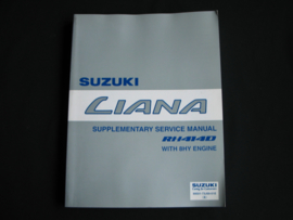 Werkplaatshandboek Suzuki Liana (RH414D)