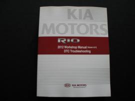 Werkplaatshandboek Kia Rio (2012) DTC troubleshooting (Brandstofsysteem en Transmissie)