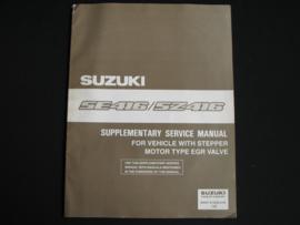 Werkplaatshandboek Suzuki Vitara (SE416 en SZ416) supplement