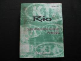 Werkplaatshandboek Kia Rio (2005)